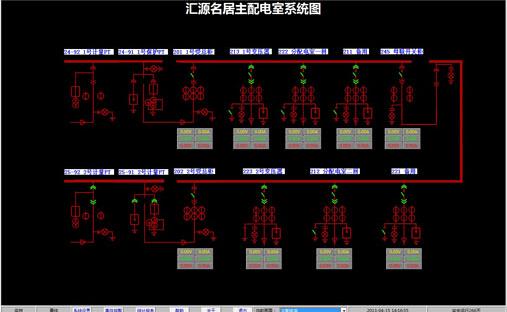 智能配电室管理系统是由廊坊高山电子科技有限公司自主研发的电力综合保护装置配套软件。软件通过网络设备实时采集电力综合保护装置数据,配合电力综合保护装置进行实时数据监控、数据分析、数据统计、事件报警、远程分合闸控制、权限管理等。 规格参数: 软件分为以下模块:   1.