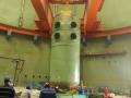 田湾核电3号机组反应堆压力容器吊装就位