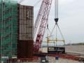 山东核电示范项目1号机组CA20模块3号子组件翻转吊装成功