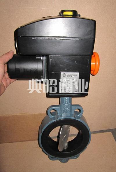 EBRO电动对夹式蝶阀Z011-A型