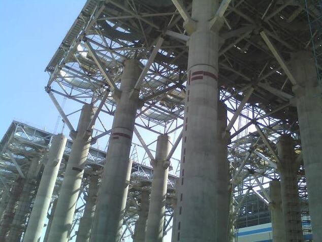 协同物料输送工程业务进行物料输送系统钢结构产品的