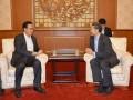 中核集团钱智民会见柬埔寨商务部部长班守萨