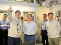 浙江省发改委副主任、能源局局长吴胜丰调研三门核电