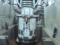 山东核电1号机组压力容器一体化顶盖开盖完成